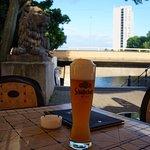 Ресторанчик немецкой кухни неподалеку от отеля (через мост)