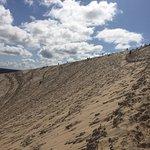 La Dune et les parapentistes