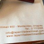 Foto van La Parrilla de Williman