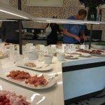 Verandan - buffet area