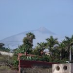 View of Mount Teide from our balcony