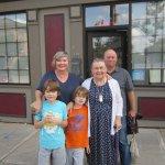 3 generations had wonderful lunch!
