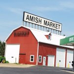There was another building that said Amish Market but was not open