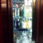 The vodka fridge