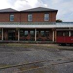 Talyllyn Narrow Gauge Railway Station platform