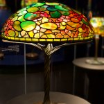 One more colorful Tiffany lamp.