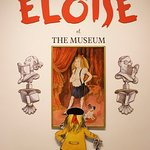 There are a few more pictures of Eloise enjoying the museum.