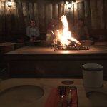 seating around fire
