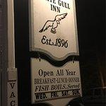 White Gull Inn sign