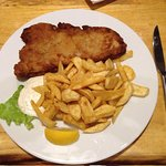 Zagreb type veal escalope
