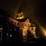 Holmenkollen Hotell by night