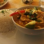 Red Thai Chicken Curry.