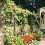 Beautiful gardens at Schloss Hunegg Hilterfingen