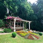 Beautiful grounds at Schloss Hunegg Hilterfingen
