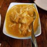Chicken korma. Wonderful