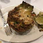 1/2 of order of stuffed artichoke.