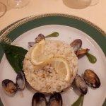 Primi - seafood risotto