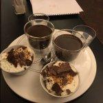 Cioccolata servita al tavolo