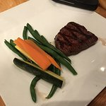 Small steak - Hubby LOVED it and couldn't be spoken to until he was done eating it.
