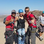 Me and two great Bootleg Canyon Flightlinez guides