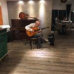 Great guitar at Gabanna