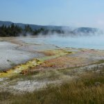 Grand Prismatic Spring overflow to Firehole River