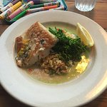 Sea Bass and wild rice