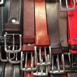 There are several stalls with a huge variety of belts they cut to size right there at the stall