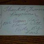 Tip request envelope