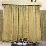 The filthiest curtains I have seen in my entire life