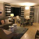 11th floor junior suite (night time).