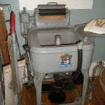 Old Maytag washer