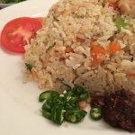 Egg fried rice (YUM!)