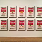 """Campbell's Soup Cans"" by Andy Warhol"