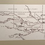 Stagecoach mail routes to Southwest from Fort Smith