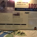 Federal court met here (1872-1896) [Board in visitor center]