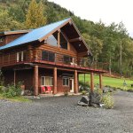 Views and feel of the Turnagain View B&B are amazing!