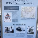 Information about the Drum Point Lighthouse