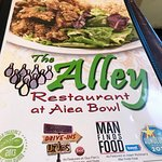The Alley Menu