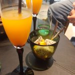 Welcome drink with fruit