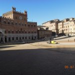 Piazza Il Campo almost back to normal 3 days after the Palio