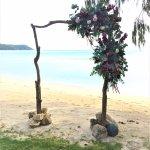 Wedding Abor on the beach