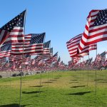 Amazing display of flags honoring victims of 9/11