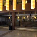 Hotel lobby - staff were helpful and friendly