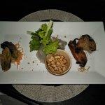 Entree a trio of khmer tastes
