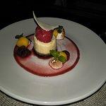 Stunning dessert in looks and taste