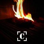 Burgers feitos no fogo!