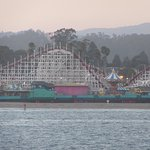 Wooden Roller Coaster, Santa Cruz Beach Boardwalk, Santa Cruz, CA