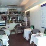 Inside Grenny's cafe