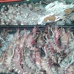 Lots of seafood to cater for your needs. :P